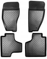 Коврики в салон для Dodge Nitro '07-12 полиуретановые, черные (Nor-Plast)