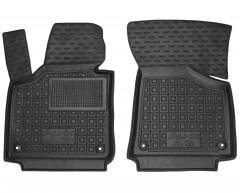 Коврики в салон передние для Audi A3 '04-12 резиновые, черные (AVTO-Gumm)