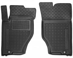 Коврики в салон передние для Kia Sorento '03-09 BL резиновые, черные (AVTO-Gumm)