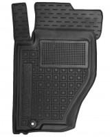 Коврик в салон водительский для Kia Sorento '03-09 BL резиновый, черный (AVTO-Gumm)