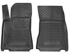 Коврики в салон передние для Mercedes A-Class W177 '18- резиновые, черные (AVTO-Gumm)