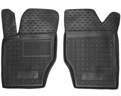 Коврики в салон передние для Peugeot 307 '01-07 резиновые, черные (AVTO-Gumm)