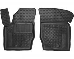 Коврики в салон передние для Volvo XC 90 '03-14 резиновые, черные (AVTO-Gumm)