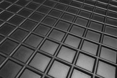 Фото 5 - Коврики в салон для Skoda Kodiaq '17-, 7 мест резиновые, черные (AVTO-Gumm) 3-й ряд