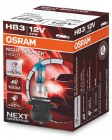 Автомобильная лампочка Osram Night Breaker Laser (NG) HB3 60W 12V