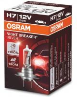 Автомобильная лампочка Osram Night Breaker Silver H7 55W 12V