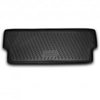 Коврик в багажник для Opel Zafira '12-, 7 мест, короткий, полиуретановый (Novline / Element) черный