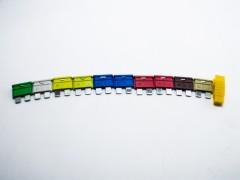 Предохранители плоские medium ''evro'' ПП-15090, набор
