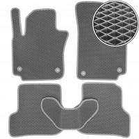 Коврики в салон для Seat Altea / Altea XL / Freetrack '07-15, EVA-полимерные, серые(Kinetic)