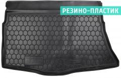 Коврик в багажник для Hyundai i30 GD '13-16 хетчбэк, резино-пластиковый (AVTO-Gumm)
