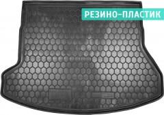 Коврик в багажник для Hyundai i30 GD '13-16 универсал, резино-пластиковый (AVTO-Gumm)