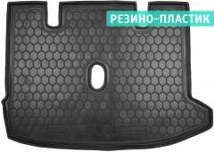 Коврик в багажник для Renault Lodgy '12-, резино-пластиковый (AVTO-Gumm)