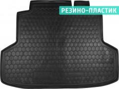 Коврик в багажник для Chery E5 '12-, резино-пластиковый (AVTO-Gumm)