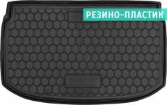 Коврик в багажник для Chevrolet Aveo '11- хетчбэк, резино-пластиковый (AVTO-Gumm)