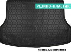 Коврик в багажник для Chevrolet Orlando '11- (короткий), резино-пластиковый (AVTO-Gumm)
