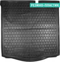 Коврик в багажник для Citroen C-Elysee '13-, резино-пластиковый (AVTO-Gumm)
