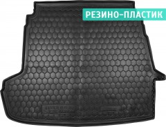 Коврик в багажник для Hyundai Sonata '10-15, резино-пластиковый (AVTO-Gumm)