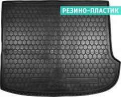 Коврик в багажник для Hyundai Santa Fe '06-10 CM , 7 мест (сложенный третий ряд), резино-пластиковый (AVTO-Gumm)
