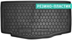 Коврик в багажник для Hyundai i-10 '14-, резино-пластиковый (AVTO-Gumm)