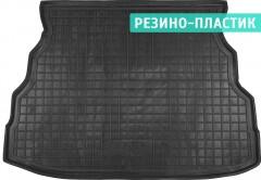 Коврик в багажник для Geely CK '06-, резино-пластиковый (AVTO-Gumm)