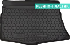 Коврик в багажник для Kia Ceed '12- хетчбэк без органайзера, резино-пластиковый (AVTO-Gumm)