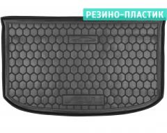Коврик в багажник для Kia Soul '14-, (верхний), резино-пластиковый (AVTO-Gumm)