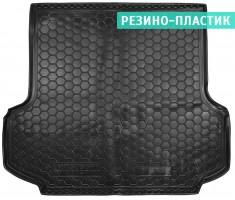 Коврик в багажник для Mitsubishi Pajero Sport II '08-16, резино-пластиковый (AVTO-Gumm)