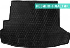 Коврик в багажник для Nissan X-Trail '08-15 (с органайзером), резино-пластиковый (AVTO-Gumm)