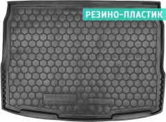 Коврик в багажник для Nissan Qashqai '14-17, резино-пластиковый (AVTO-Gumm)