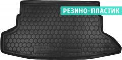 Коврик в багажник для Nissan Juke '11-14, резино-пластиковый (AVTO-Gumm)