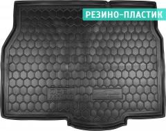 Коврик в багажник для Opel Astra H '04-15, хетчбэк, резино-пластиковый (AVTO-Gumm)