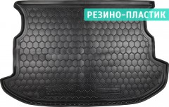 Коврик в багажник для Ssangyong Korando '11-, резино-пластиковый (AVTO-Gumm)
