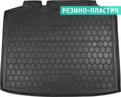 Коврик в багажник для Skoda Rapid Spaceback '13-, резино-пластиковый (AVTO-Gumm)