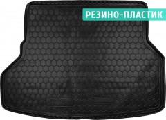 Коврик в багажник для Toyota Highlander '07-13, длинный, резино-пластиковый (AVTO-Gumm)
