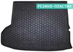 Коврик в багажник для Toyota Highlander '14-, длинный, резино-пластиковый (AVTO-Gumm)