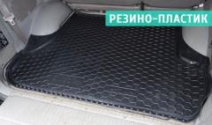 Коврик в багажник для Toyota LC 100 '98-07, резино-пластиковый (AVTO-Gumm)