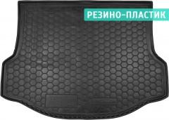 Коврик в багажник для Toyota RAV4 '13-18, с докаткой, резино-пластиковый (AVTO-Gumm)