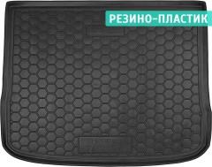 Коврик в багажник для Volkswagen Tiguan '07-16, резино-пластиковый (AVTO-Gumm)