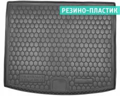 Коврик в багажник для Volkswagen Touareg '10-18 (2-х зонный климат), резино-пластиковый (AVTO-Gumm)