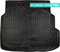 Коврик в багажник для Mercedes E-Class W211 '02-09 седан, резино-пластиковый (Avto-Gumm)