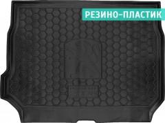 Коврик в багажник для Peugeot 2008 '13-, резино-пластиковый (Avto-Gumm)