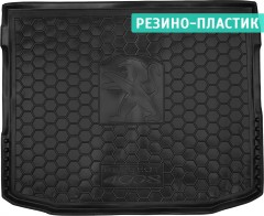 Коврик в багажник для Peugeot 4008 '12-17, резино-пластиковый (Avto-Gumm)