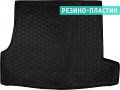 Коврик в багажник для Skoda Superb '02-08, резино-пластиковый (Avto-Gumm)