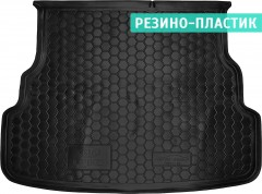 Коврик в багажник для Kia Rio '15- седан, резино-пластиковый (AVTO-Gumm)
