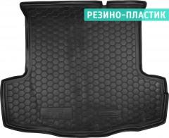 Коврик в багажник для Fiat Linea '07-15, резино-пластиковый (AVTO-Gumm)