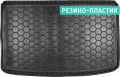 Коврик в багажник для Fiat 500L '13-, резино-пластиковый (AVTO-Gumm)
