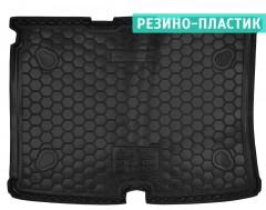 Коврик в багажник для Fiat Fiorino Qubo '08-, резино-пластиковый (AVTO-Gumm)