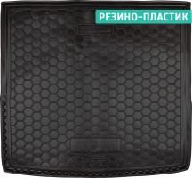 Коврик в багажник для Renault Duster '10-18 (4WD), резино-пластиковый (AVTO-Gumm) с запаской в багажнике