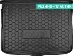 Коврик в багажник для Fiat 500X '14-, резино-пластиковый (AVTO-Gumm)