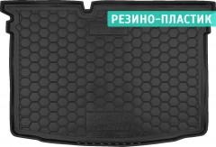 Коврик в багажник для Skoda Fabia III '15-, хетчбек, резино-пластиковый (AVTO-Gumm)